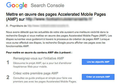 amp-message-search-console