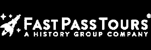 Fast Past Tours Logo Blanc