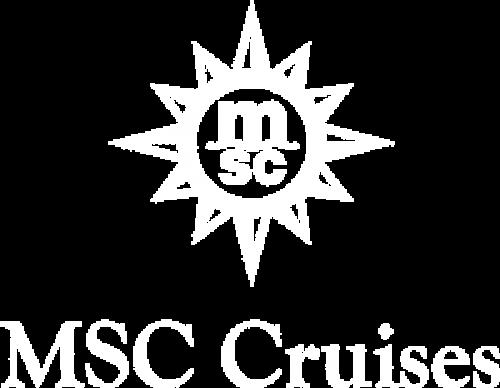 MSC cruises logo blanc