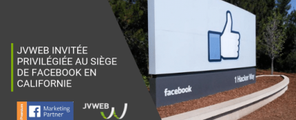 JVWEB partenaire Facebook